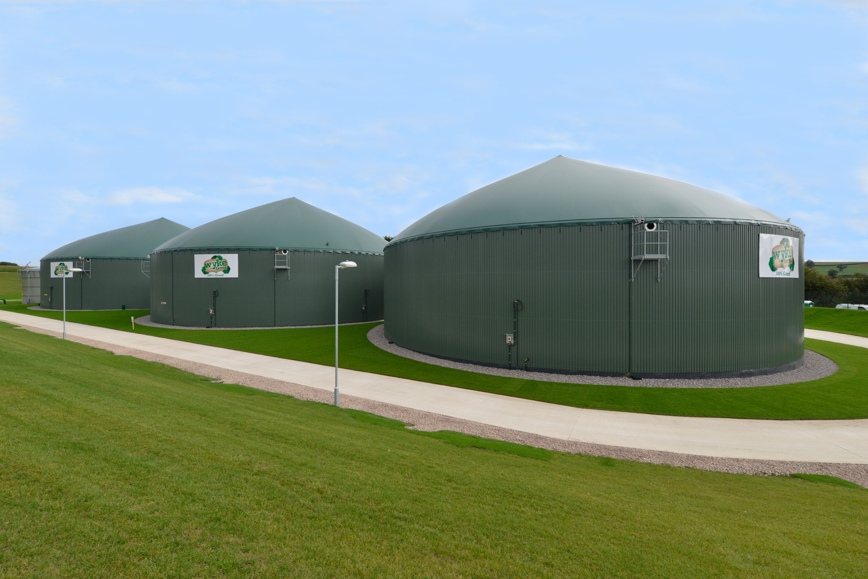 Large Scale Anaerobic Digesters
