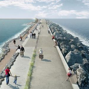 Proposed tidal lagoon for Swansea Bay