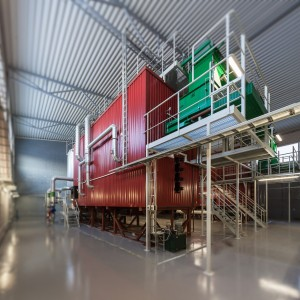 Large Scale Biomass Boiler