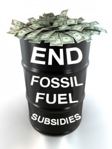 End fossil fuel subsidies