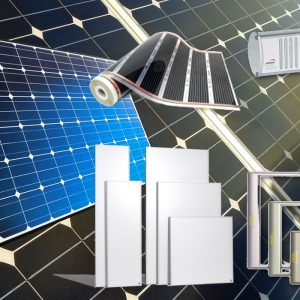 Solar Panels and Infrared Heating