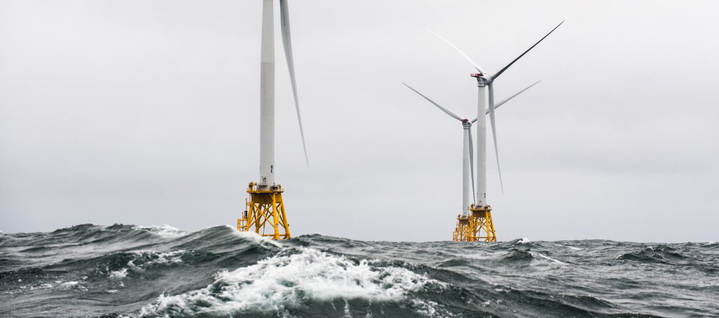 Rough Seas - Wind Turbines