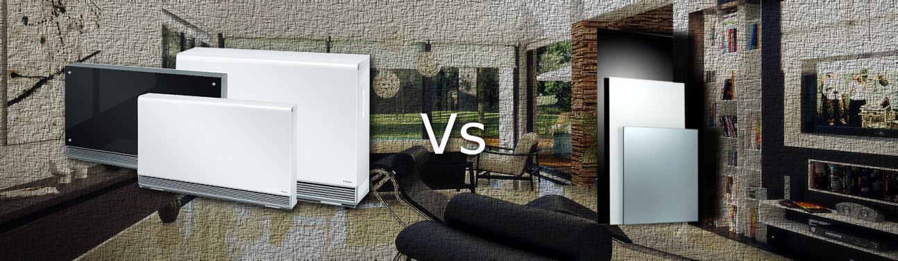 modern storage heaters vs infrared heaters