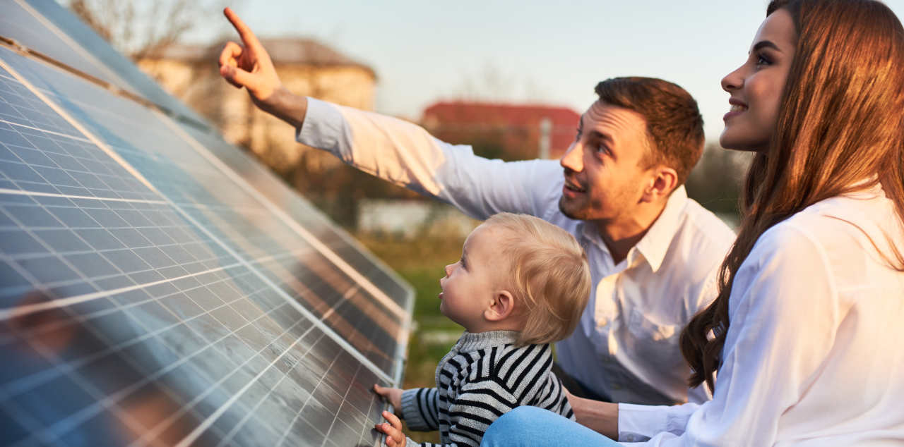How to generate your own electricity using solar panels