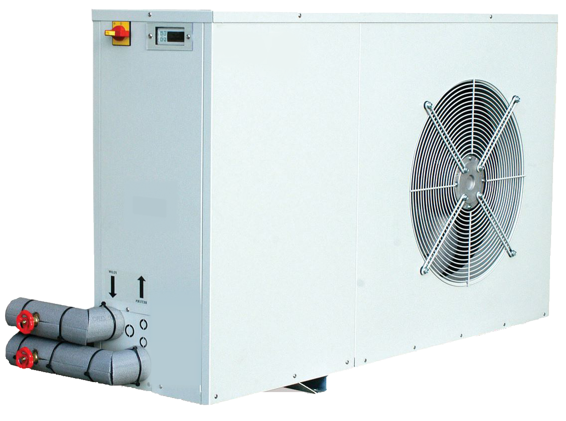 Example of an Air Source Heat Pump