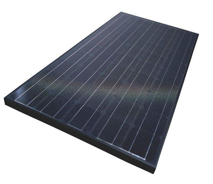 Black Frame Solar Panel