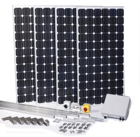 DIY Home Solar Panel Kit