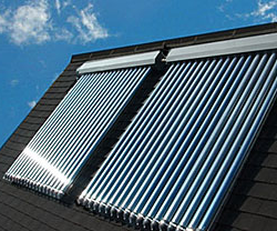 Modern Solar Thermal Evacuated Tubes