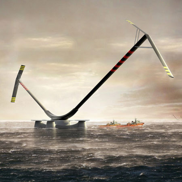 Project Nova V-Shaped Turbine