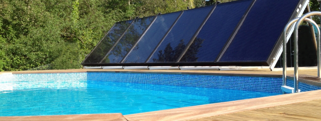 Solar Thermal Heated Swiming Pool