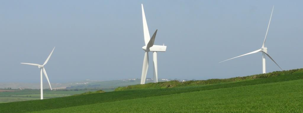 Industrial Wind Farm