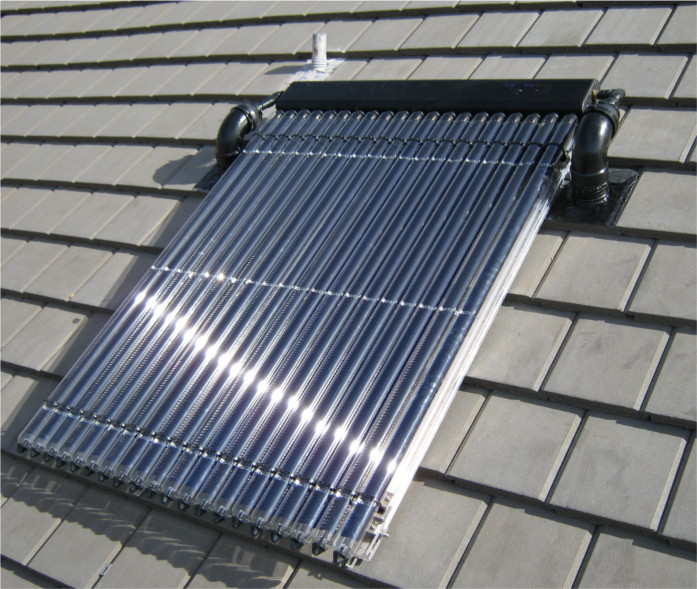 on roof solar thermal