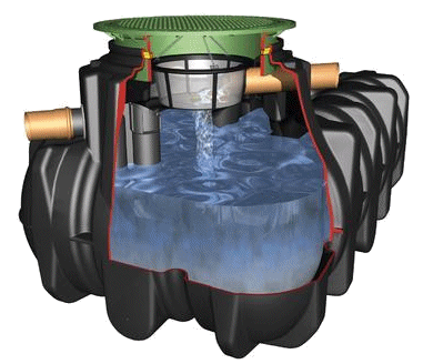 Large rainwater harvester