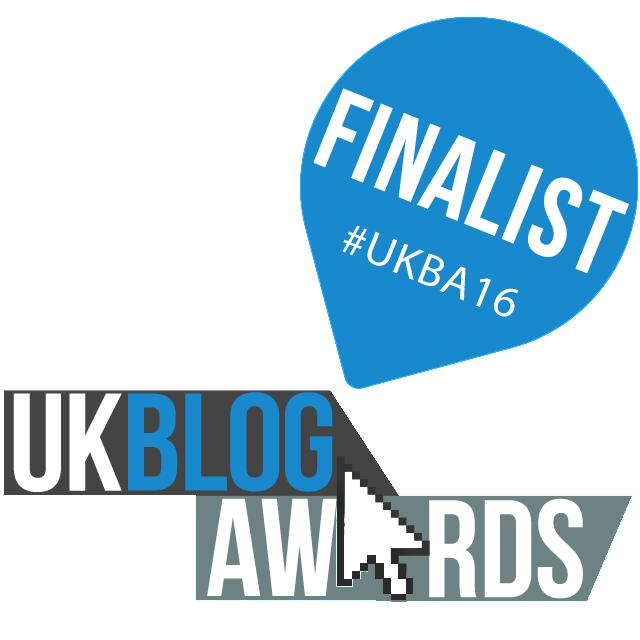 UK Blog Awards Finalist 2016